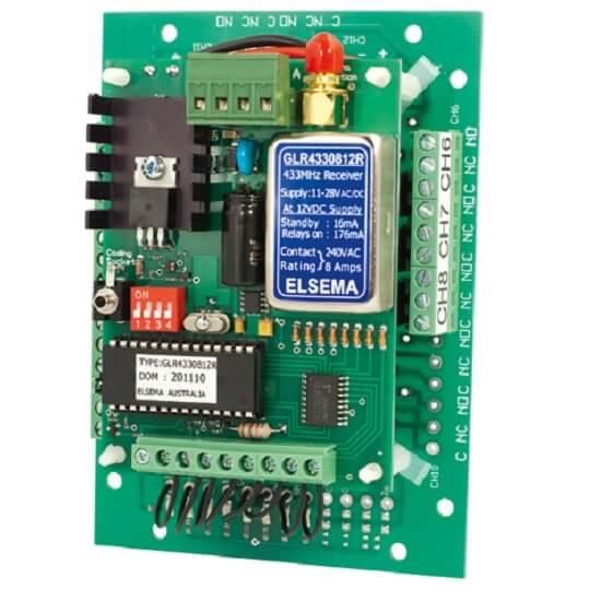 Elsema Gigalink GLR43308 8 Ch Receiver Module