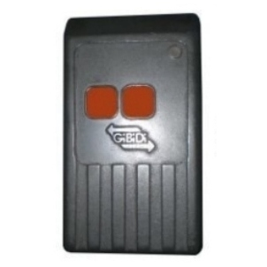 GiBiDi 27 Meg 2 Button Garage Door Remote Control