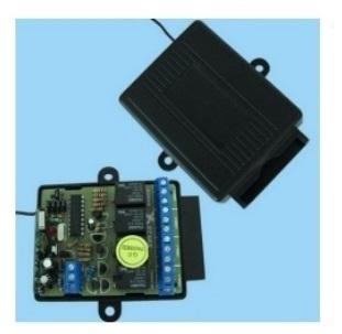 GiBiDi MTQ2v2 Blue Garage Door Remote Control