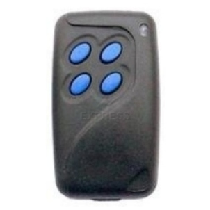 GiBiDi MTQ4v2 Blue Garage Door Remote Control