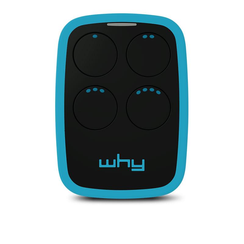 WHY EVO V7 BLUE Garage Door Remote Control